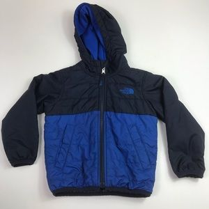 The north face jacket coat boys 3T blue